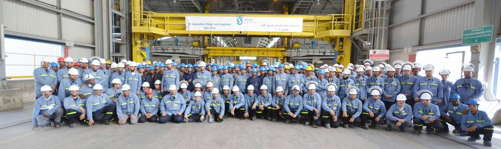 Sohar Aluminium Completes Major Upgrade of Potline A major revamp of SA s potline concluded by the end of November, marking the culmination of a multimillion dollar initiative that is already