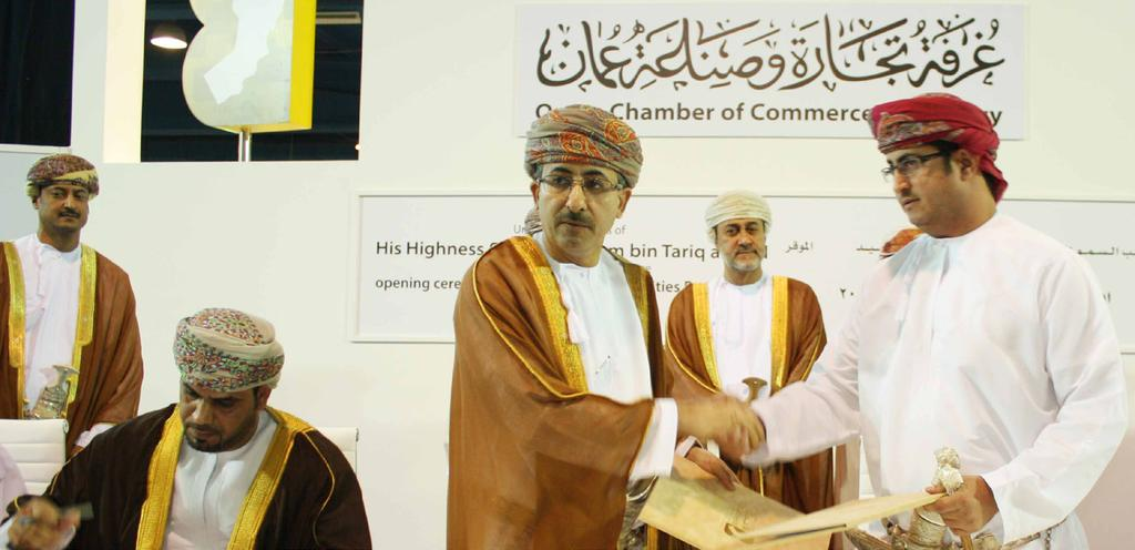 SA Sign Contracts Worth over OMR 1M at Business Opportunities Forum 2014 Sohar Aluminium signed contracts worth over OMR1 million with Sohar Foundry and Marine Engineering, Wahat Oman Industrial