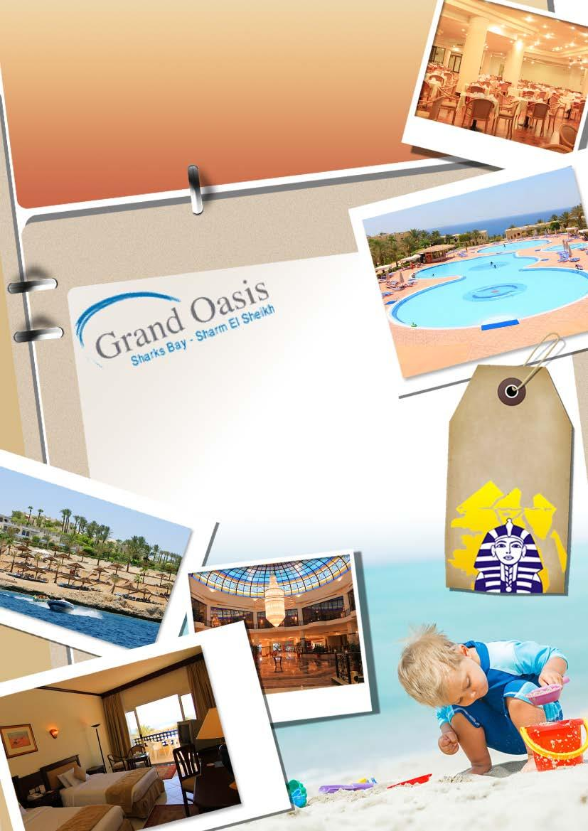 AA Grand Oasis Resort إيه إيه جراند أواسيز ريزورت Sharm El Sheikh 4 Days 3 Nights Per Person in Double Room Soft All Inclusive