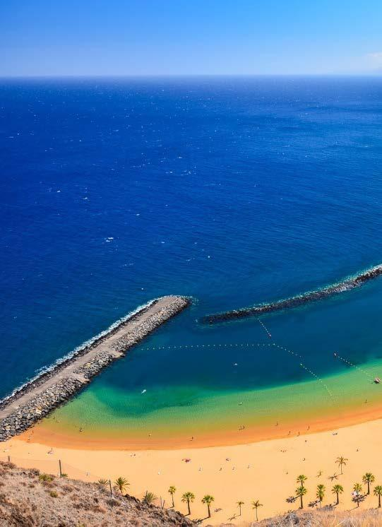Canary Islands are a group of the most famous and popular Spain islands in the world and is located in front of the northwest coast of the continent of Africa, The canary island consists of 17 island