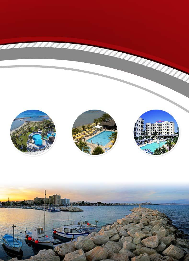 عروض قربص - الرنكا Golden Bay Hotel Palm Beach Hotel Crown Resorts 5900 EGP P.P. DBL From 22 July to 19 Oct.