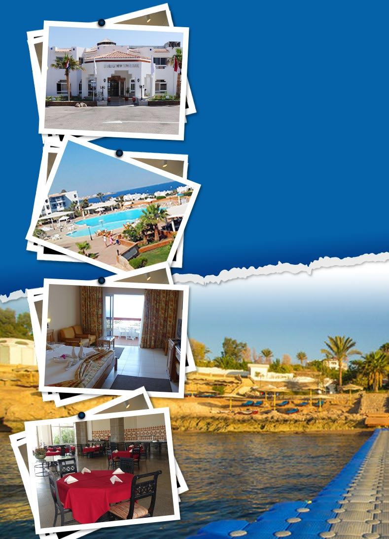 Hotel & Resorts Offers With Memphis 4 Days 3 Nights Per Person in Double Room Half Board Basis 4 أيام / 3 ليالى للفرد فى الغرفة