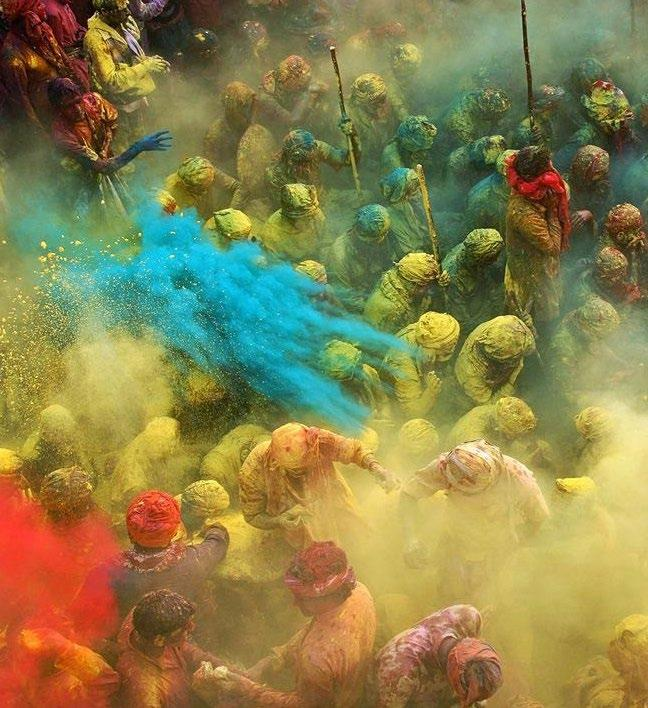 Discover The World With Memphis Holi festival was an old festival to celebrate the Hindu god.