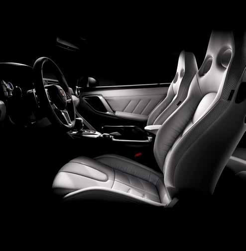 Subtle etching on the aluminum bezels enhances their feel, while sport seats provide comfort and support, creating an ideal place to take it all in.